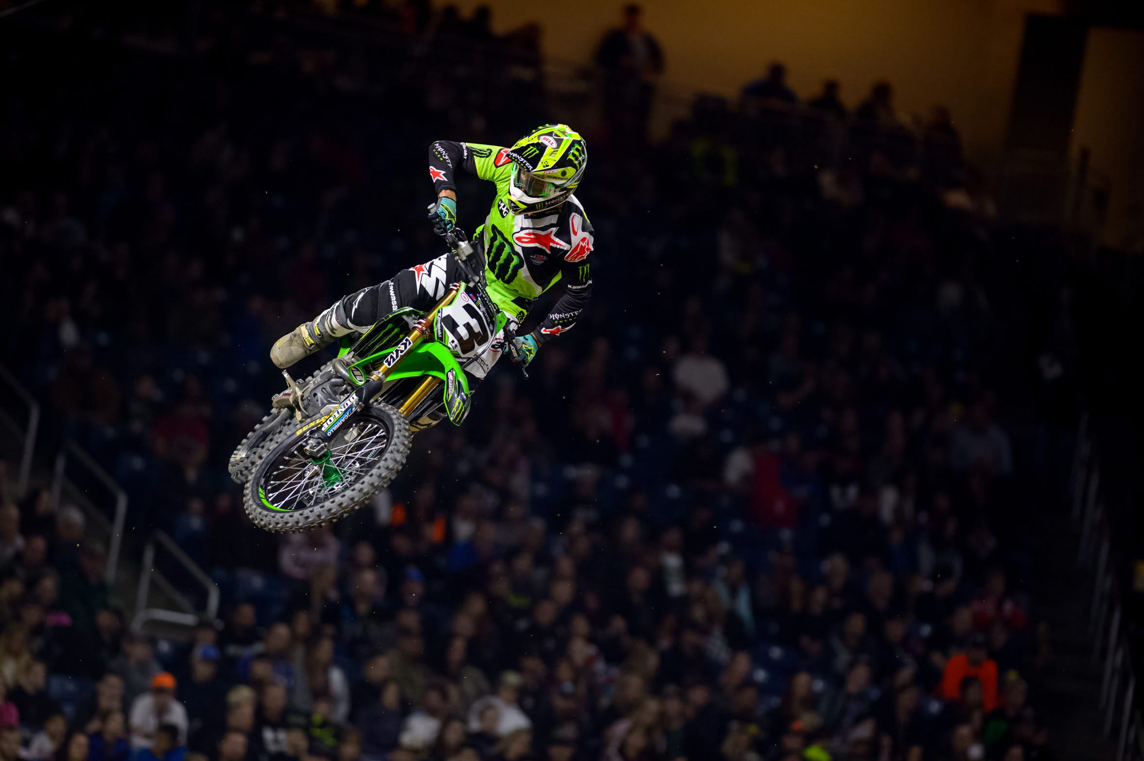 Tomac wins Four in a Row at 2017 Detroit SX