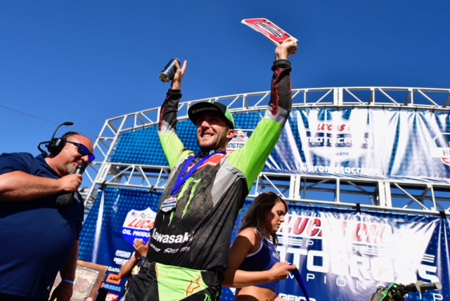 Tomac Sweeps Hangtown
