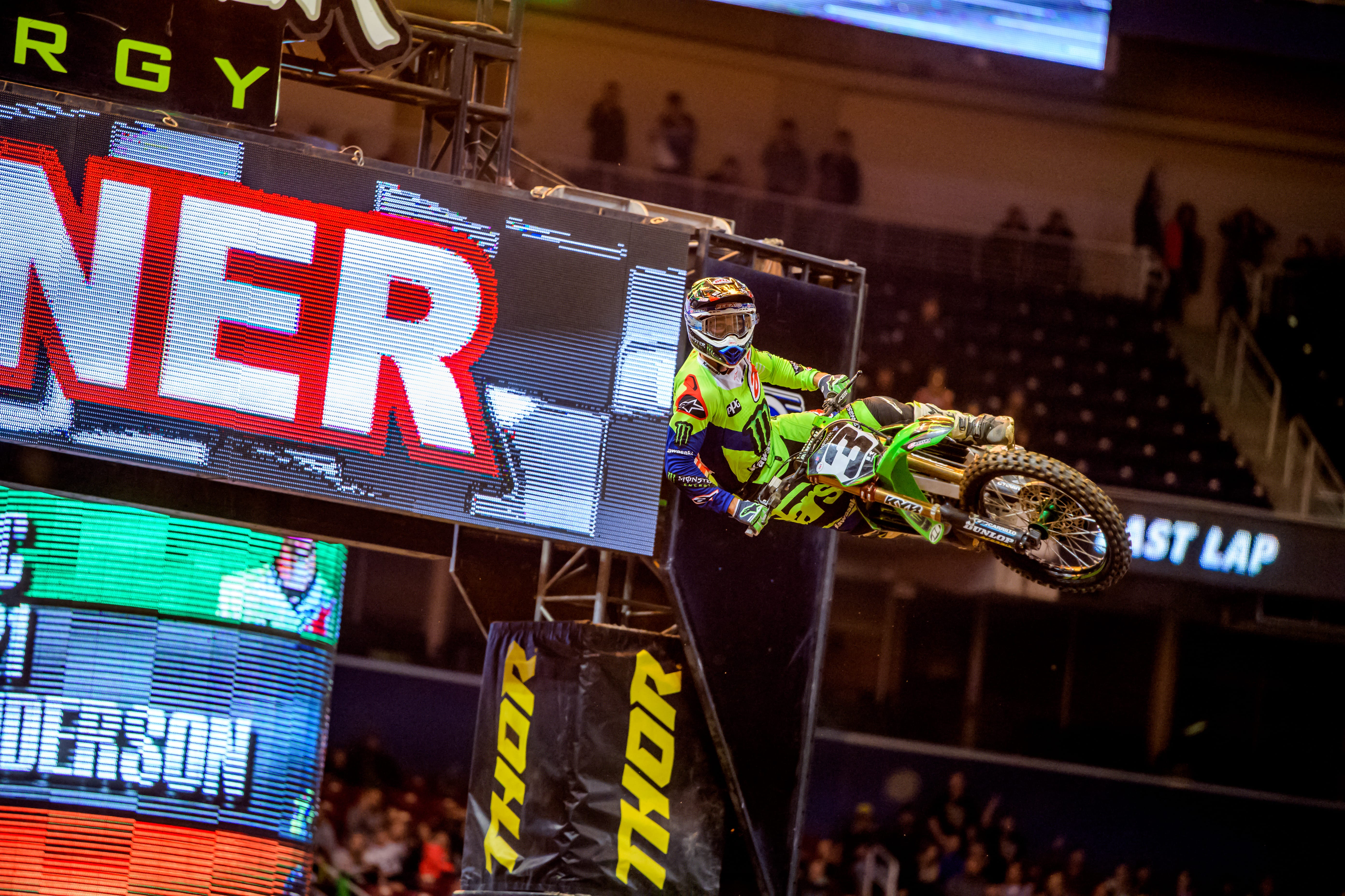 ELI TOMAC TURNS ST. LOUIS GREEN WITH DOMINANT 450SX MAIN EVENT