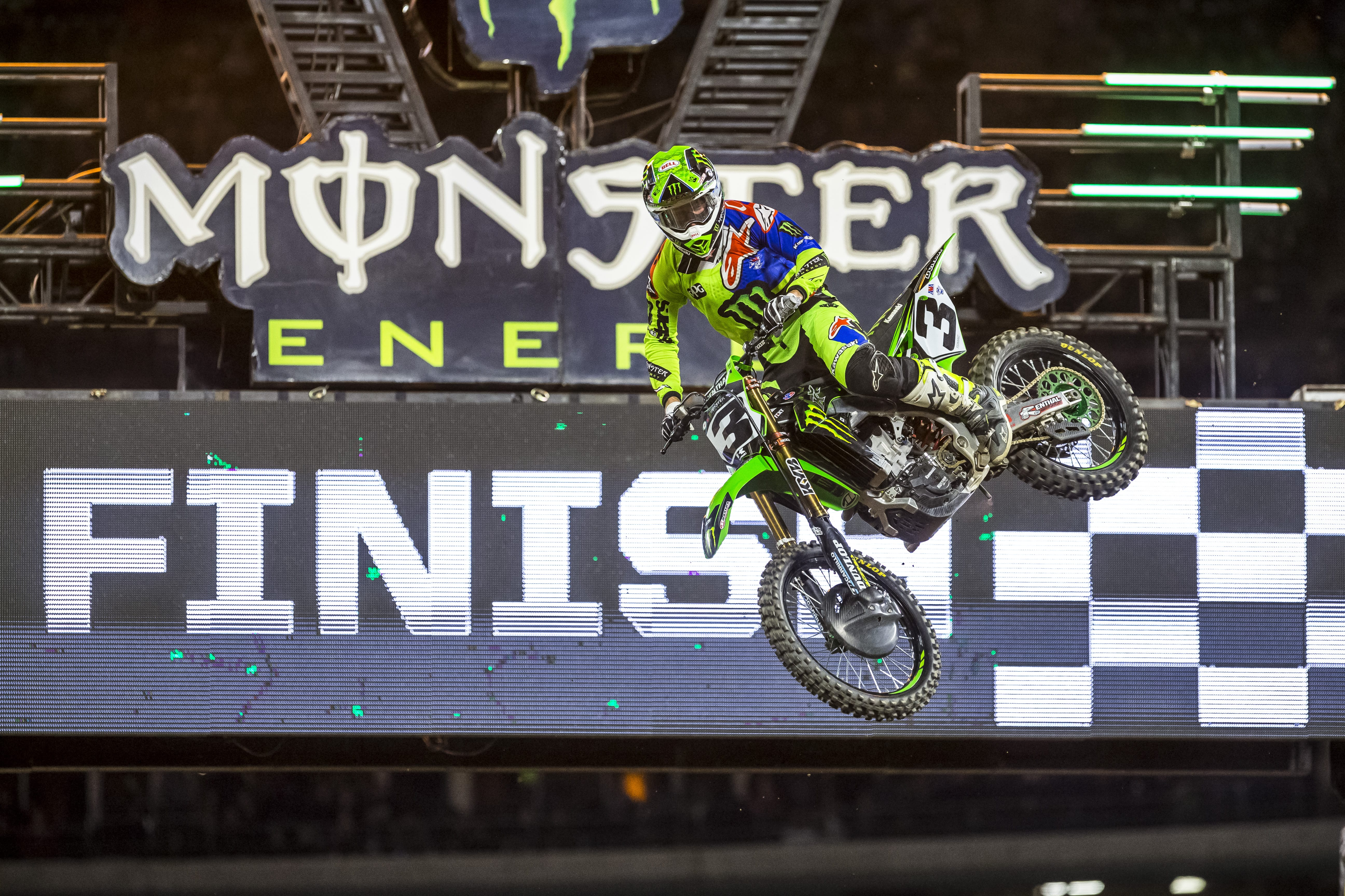MONSTER ENERGY KAWASAKI CROWNED AT ANGEL STADIUM